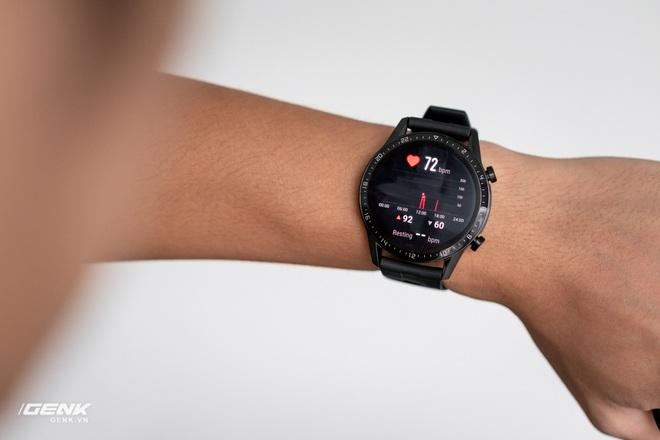 Đánh giá Huawei Watch GT2: Phần mềm kéo đuôi phần cứng - Ảnh 4.