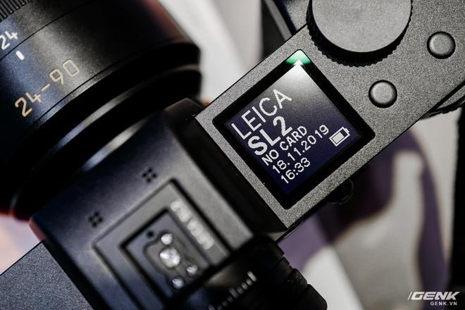 Trên tay máy ảnh không gương lật dành cho 1% dân số Leica SL2: Thiết kế sang, cảm biến 47MP, giá gần 160 triệu đồng - Ảnh 10.