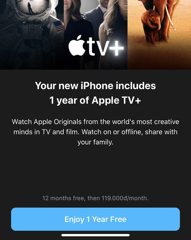 Đừng quên: iPhone mới đi kèm 1 năm miễn phí Apple TV+, đây là cách để tận dụng - Ảnh 2.