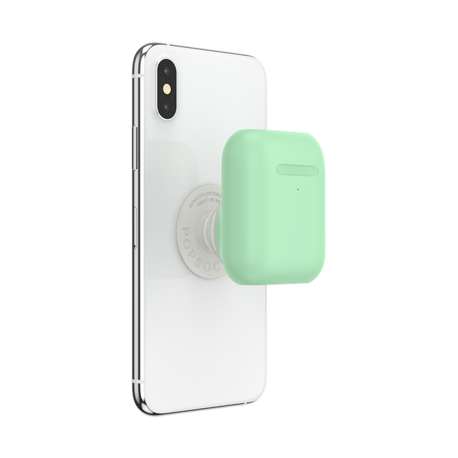 Khó thế mà vẫn làm: PopSocket ra mắt móc đeo gắn vào điện thoại chứa luôn cả hộp đựng Airpods - Ảnh 2.