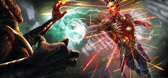 Marvel tiếp tục bật mí những ý tưởng kịch bản khác cho Endgame: Iron Man và Doctor Strange đổi trang phục, bé Thanos sơ sinh lộ diện - Ảnh 2.