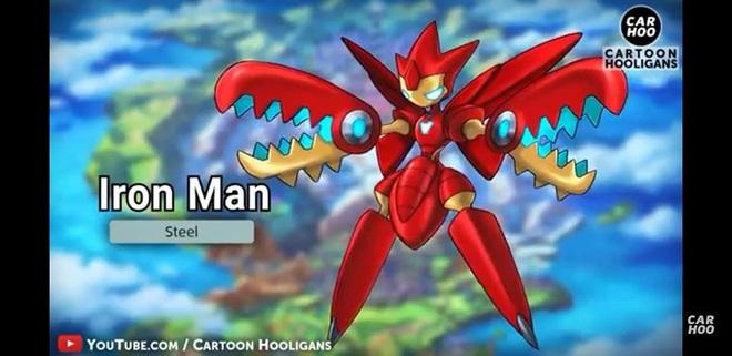 [Chùm ảnh] Chết cười với những màn lưỡng long nhất thể cực kì thuyết phục của Avengers và Pokémon - Ảnh 1.