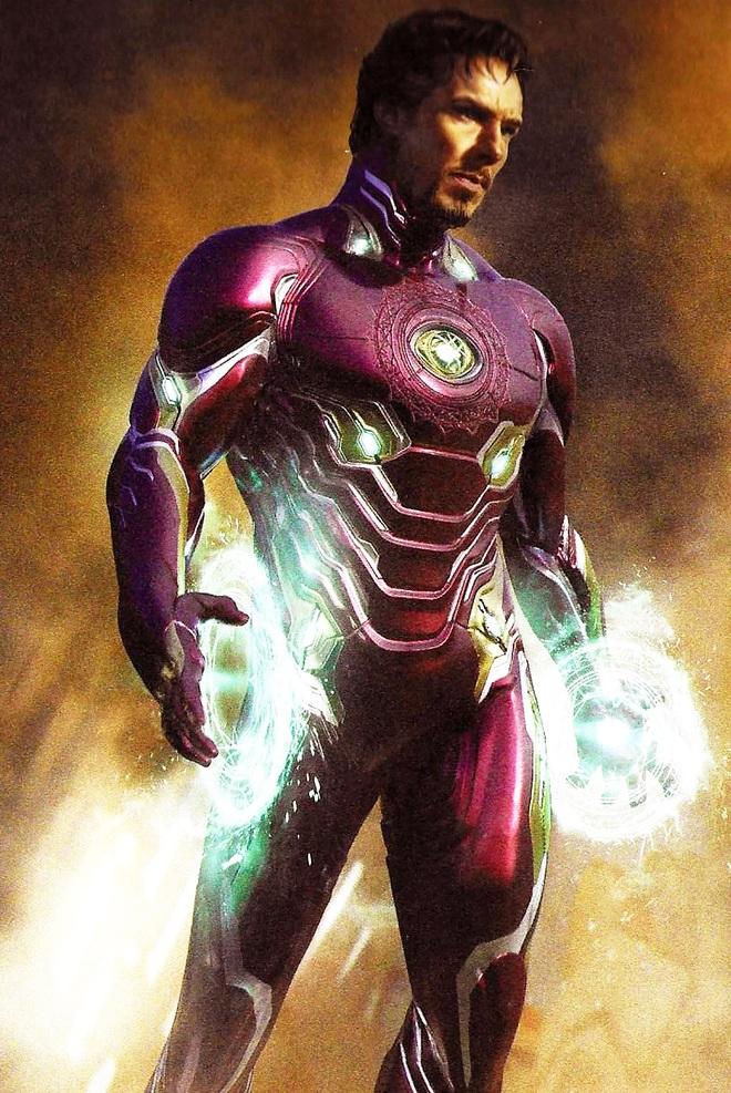 Marvel tiếp tục bật mí những ý tưởng kịch bản khác cho Endgame: Iron Man và Doctor Strange đổi trang phục, bé Thanos sơ sinh lộ diện - Ảnh 3.