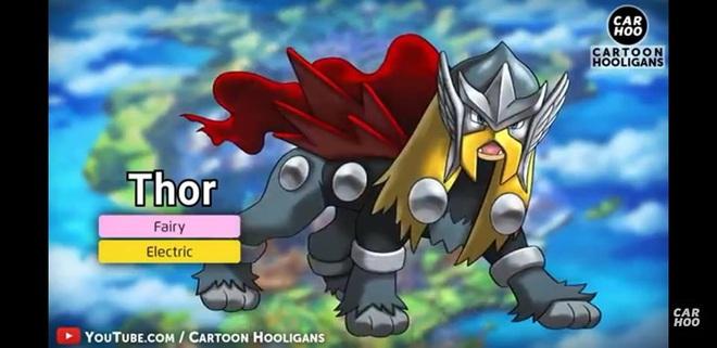 [Chùm ảnh] Chết cười với những màn lưỡng long nhất thể cực kì thuyết phục của Avengers và Pokémon - Ảnh 3.