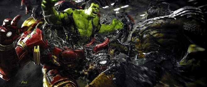 Marvel tiếp tục bật mí những ý tưởng kịch bản khác cho Endgame: Iron Man và Doctor Strange đổi trang phục, bé Thanos sơ sinh lộ diện - Ảnh 4.