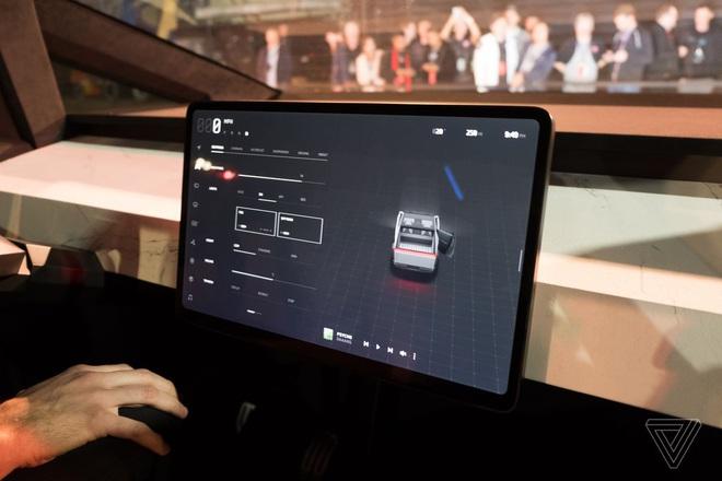 Soi kỹ thiết kế và đi thử xe bán tải chạy điện Tesla Cybertruck - Ảnh 3.