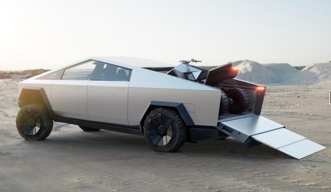 Tesla ra mắt Cybertruck: tăng tốc nhanh hơn cả siêu xe thể thao, vỏ chống đạn, có thể chạy 800 km mới cần sạc pin, giá khởi điểm 39.900 USD - Ảnh 4.