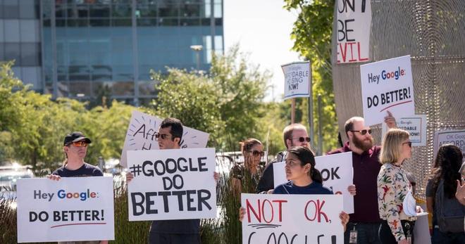Thẳng tay sa thải nhân sự vì làm lộ thông tin với giới truyền thông, Google bị hàng nghìn nhân viên biểu tình phản đối - Ảnh 1.