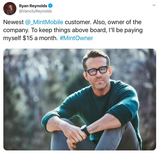 Deadpool Ryan Reynolds trở thành ông chủ nhà mạng Mỹ - Ảnh 1.