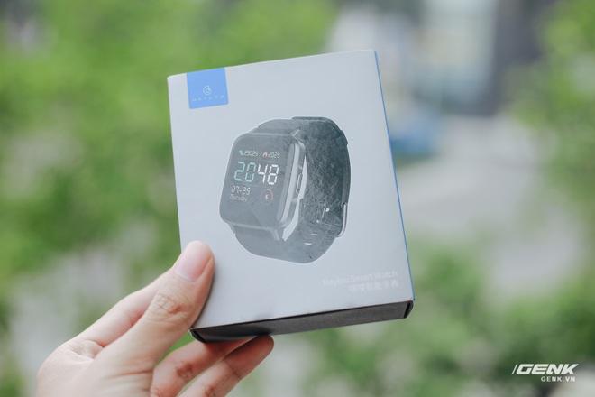 Trên tay Haylou LS01: Chiếc Apple Watch giá 500.000 đồng của Xiaomi, cạnh tranh trực tiếp Mi Band 4 - Ảnh 1.