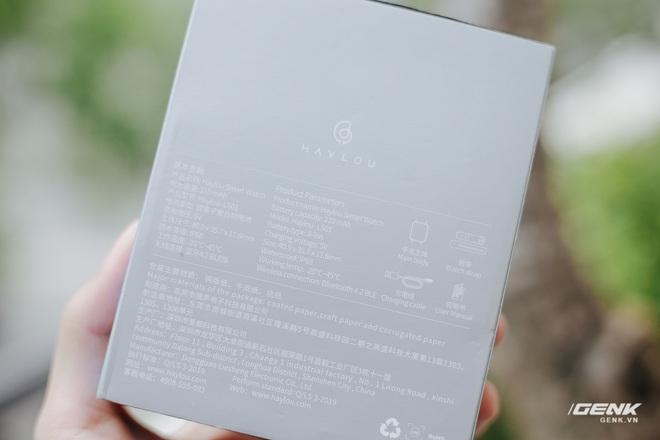 Trên tay Haylou LS01: Chiếc Apple Watch giá 500.000 đồng của Xiaomi, cạnh tranh trực tiếp Mi Band 4 - Ảnh 3.