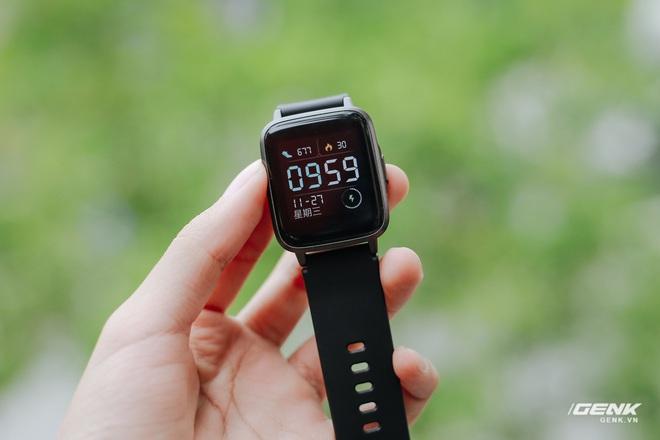 Trên tay Haylou LS01: Chiếc Apple Watch giá 500.000 đồng của Xiaomi, cạnh tranh trực tiếp Mi Band 4 - Ảnh 10.