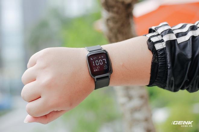 Trên tay Haylou LS01: Chiếc Apple Watch giá 500.000 đồng của Xiaomi, cạnh tranh trực tiếp Mi Band 4 - Ảnh 16.