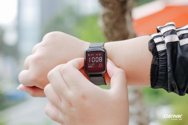 Trên tay Haylou LS01: Chiếc Apple Watch giá 500.000 đồng của Xiaomi, cạnh tranh trực tiếp Mi Band 4 - Ảnh 15.