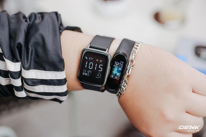 Trên tay Haylou LS01: Chiếc Apple Watch giá 500.000 đồng của Xiaomi, cạnh tranh trực tiếp Mi Band 4 - Ảnh 18.