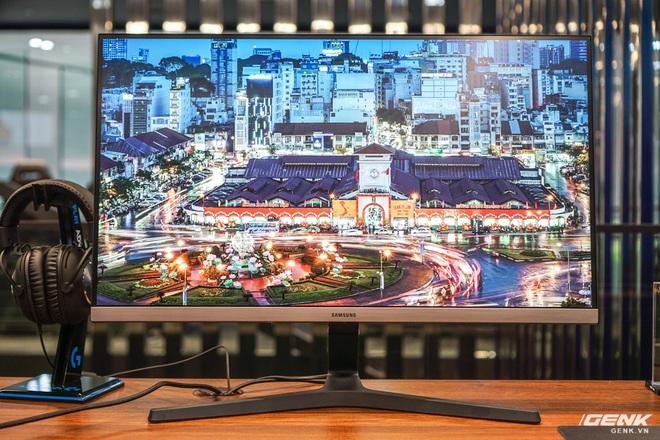 Samsung giới thiệu màn hình UHD đầu tiên trên thế giới đạt chuẩn bảo vệ mắt 2.0, độ quang phổ 1 tỷ màu, thiết kế viền siêu mỏng, giá gần 15 triệu - Ảnh 2.