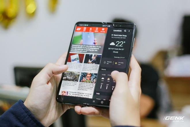 Mở hộp Galaxy Fold chính hãng: Giá 50 triệu đồng nhưng vẫn cháy hàng chỉ sau 6 giờ mở bán - Ảnh 14.