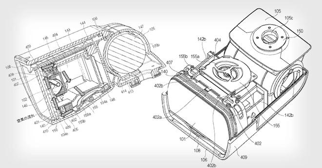 Sau máy ảnh, Canon đăng ký bản quyền đèn flash có quạt tản nhiệt - Ảnh 1.