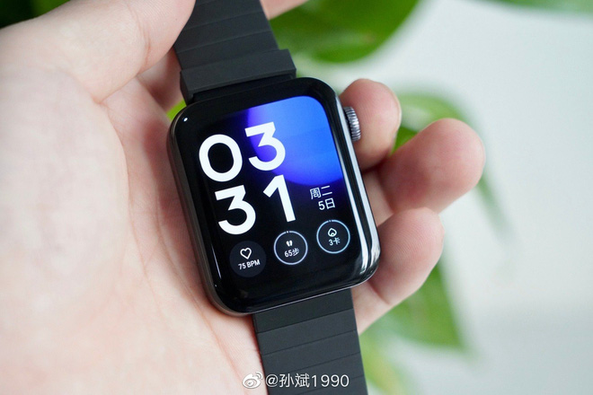 Cận cảnh Xiaomi Mi Watch: Bản sao giá rẻ của Apple Watch - Ảnh 4.