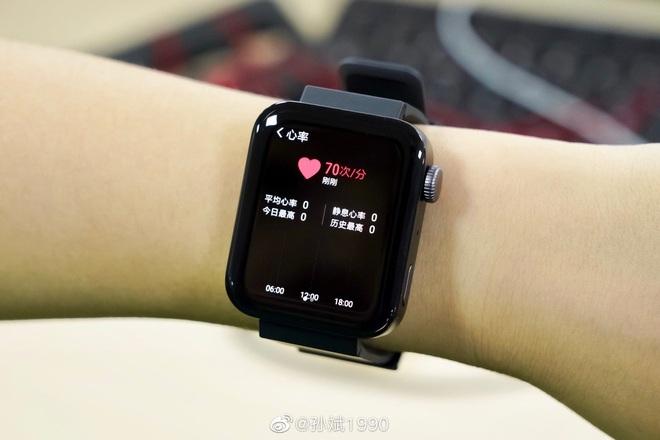 Cận cảnh Xiaomi Mi Watch: Bản sao giá rẻ của Apple Watch - Ảnh 9.
