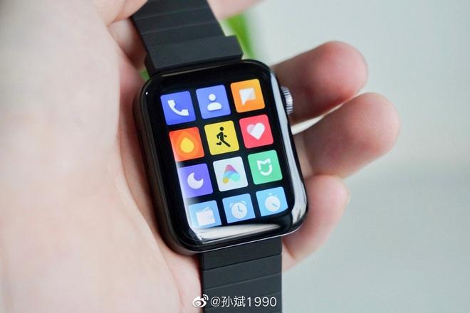 Cận cảnh Xiaomi Mi Watch: Bản sao giá rẻ của Apple Watch - Ảnh 5.