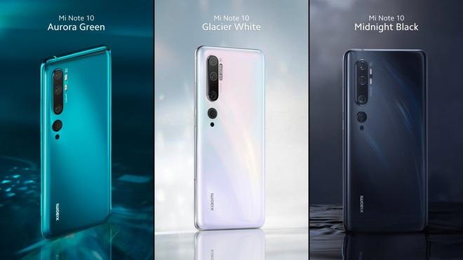 Xiaomi ra mắt Mi Note 10 và Mi Note 10 Pro: Smartphone có camera 108MP đầu tiên trên thế giới, giá từ 14.1 triệu đồng - Ảnh 6.