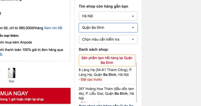 iPhone 11 Pro Max cháy hàng tại Việt Nam dù giá cao - Ảnh 4.