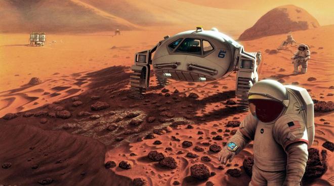 Cấy DNA của gấu nước cho các phi hành gia sẽ giúp họ sống được trên Sao Hỏa? - Ảnh 3.