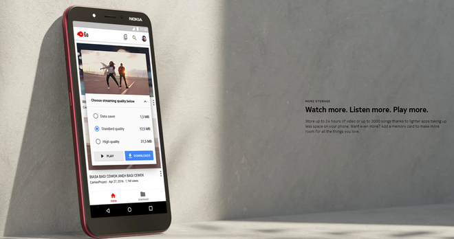 Nokia C1 ra mắt: Màn hình 5.45 inch, Android Go, giá 1.36 triệu đồng - Ảnh 1.