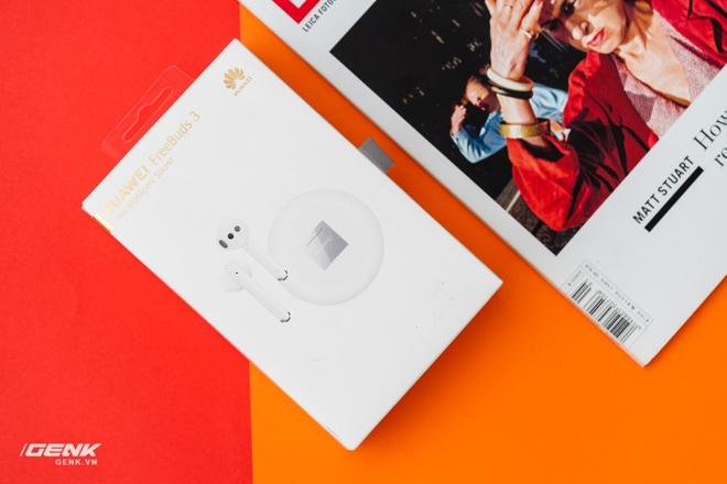 Đánh giá tai nghe không dây Huawei Freebuds 3: rất nhiều tính năng thông minh nhưng cần thêm sự khác biệt - Ảnh 1.