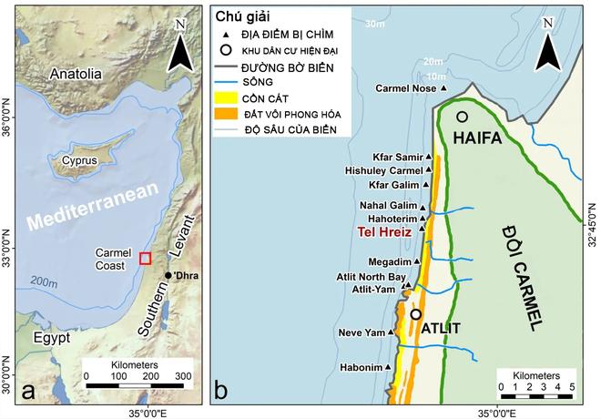 7.000 năm trước, người dân Israrel xây bức tường đá dài trăm mét để chặn nước biển dâng nhưng rồi cũng thất bại - Ảnh 1.