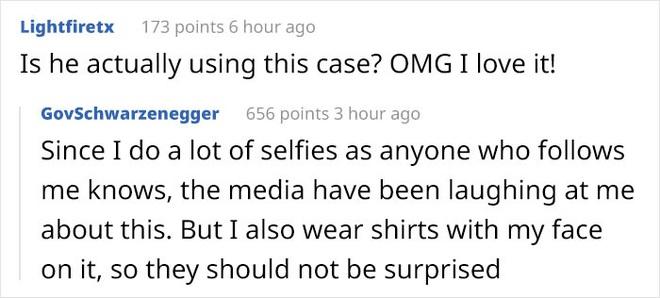 Arnold Schwarzenegger dùng ốp lưng iPhone 11 Pro bị cư dân mạng chế ảnh - Ảnh 6.