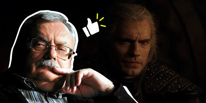 Đích thân cha đẻ bộ tiểu thuyết The Witcher lên tiếng khen ngợi: Henry Cavill vào vai Geralt chuẩn không cần chỉnh - Ảnh 1.