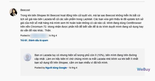 """Dùng thử extension """"trợ lý mua sắm"""" BeeCost: so sánh giá sản phẩm giữa các sàn TMĐT, tự tìm mã giảm giá - Ảnh 8."""