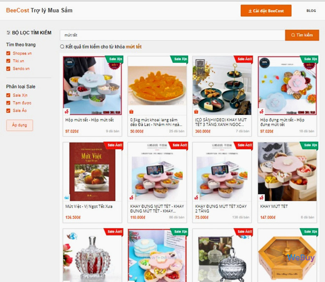 """Dùng thử extension """"trợ lý mua sắm"""" BeeCost: so sánh giá sản phẩm giữa các sàn TMĐT, tự tìm mã giảm giá - Ảnh 2."""