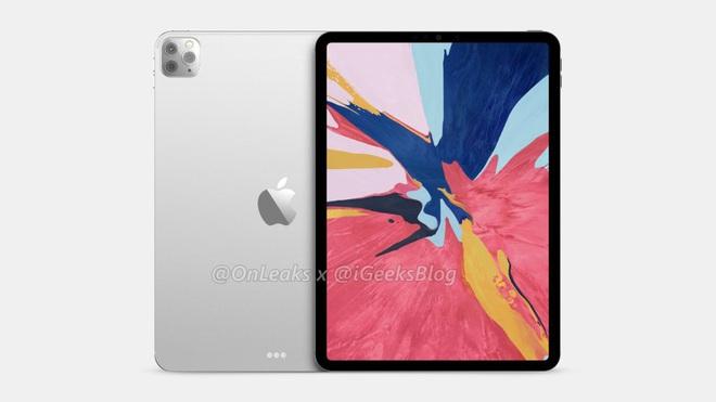iPad Pro 2020 lộ diện với cụm 3 camera như iPhone 11 Pro - Ảnh 1.