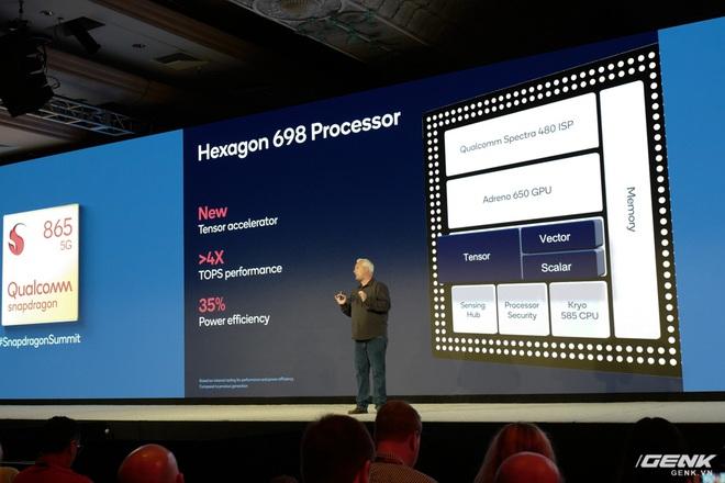 Chi tiết Qualcomm Snapdragon 865: Nhanh hơn 25% so với 855, hỗ trợ cảm biến ảnh lên đến 200MP, Engine AI thế hệ 5 - Ảnh 4.