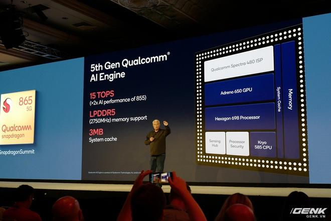 Chi tiết Qualcomm Snapdragon 865: Nhanh hơn 25% so với 855, hỗ trợ cảm biến ảnh lên đến 200MP, Engine AI thế hệ 5 - Ảnh 3.