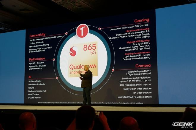 Chi tiết Qualcomm Snapdragon 865: Nhanh hơn 25% so với 855, hỗ trợ cảm biến ảnh lên đến 200MP, Engine AI thế hệ 5 - Ảnh 15.