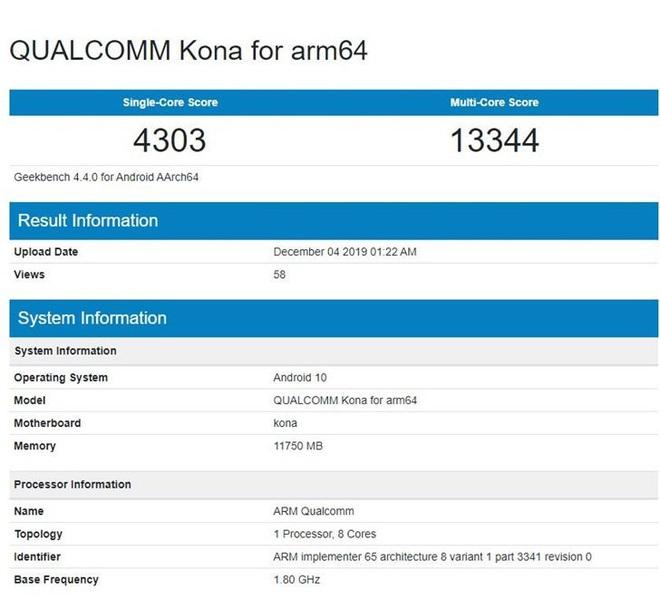 Đã có điểm hiệu năng Snapdragon 865, mạnh nhất trong các chip Android nhưng không quá ấn tượng - Ảnh 1.