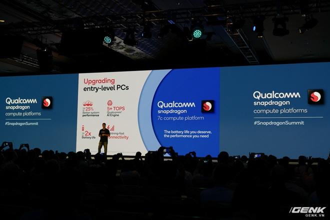 Qualcomm ra mắt Snapdragon 7c, 8c và 8cx: Nền tảng xử lý dành cho laptop từ giá rẻ đến cao cấp - Ảnh 4.