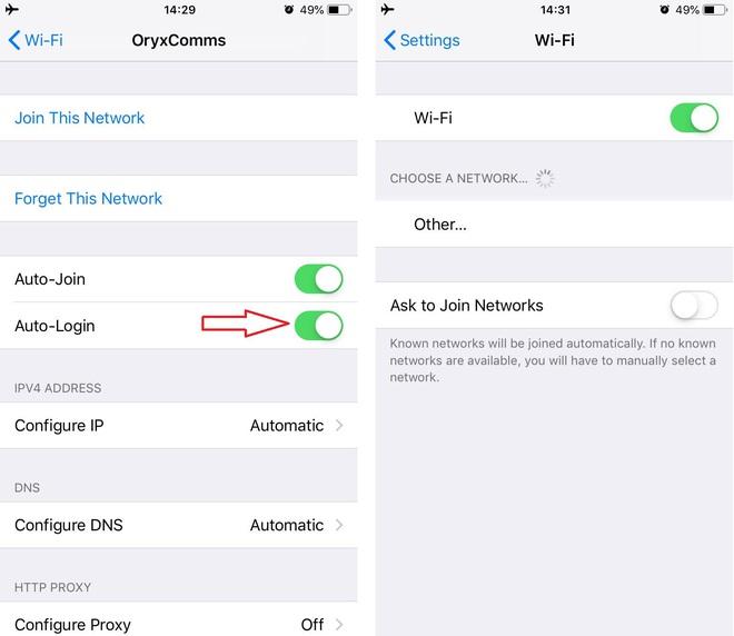 Làm gì khi iPhone báo đã kết nối vào mạng Wi-Fi miễn phí (không mật khẩu) nhưng không truy cập được Internet? - Ảnh 3.