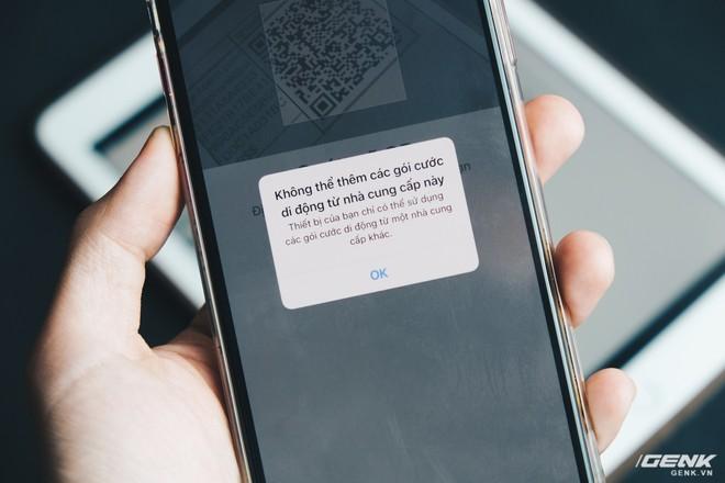 iPhone Lock có dùng được eSIM không? Chúng tôi đã thử và có câu trả lời - Ảnh 3.