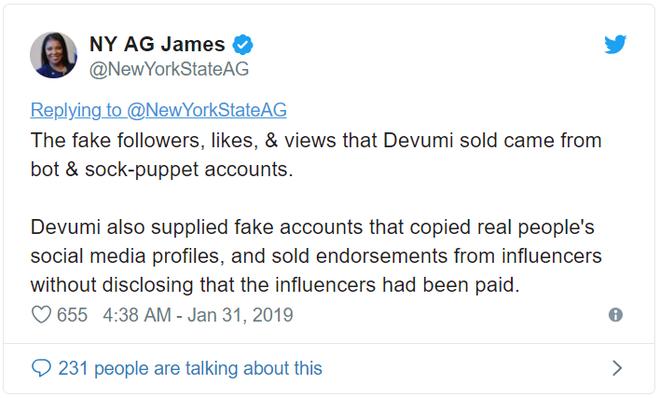 Bán lượt like giả và follow giả sẽ là bất hợp pháp tại New York - Ảnh 2.