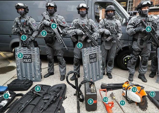 Cảnh sát đặc nhiệm chống khủng bố London được trang bị những loại vũ khí gì? - Ảnh 5.