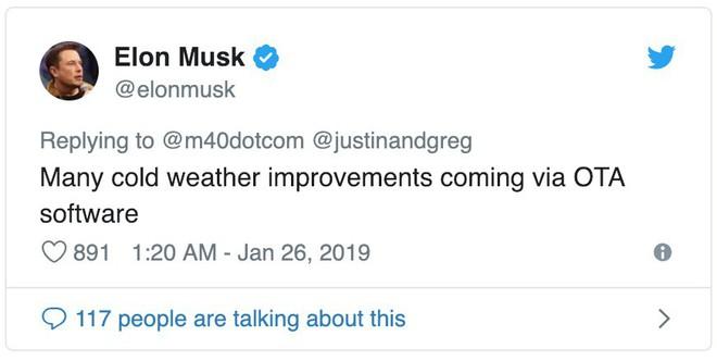 Thời tiết quá lạnh, người dùng xe hơi điện Tesla tại Mỹ méo mặt - Ảnh 2.