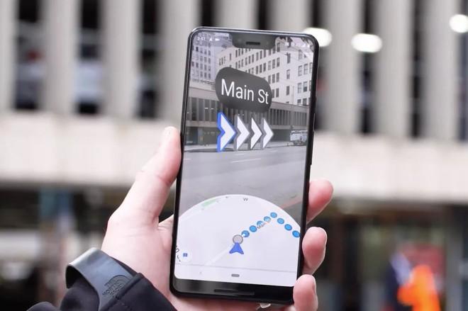 Google đã mở thử nghiệm tính năng thực tế tăng cường (AR) cho Google Maps - Ảnh 1.