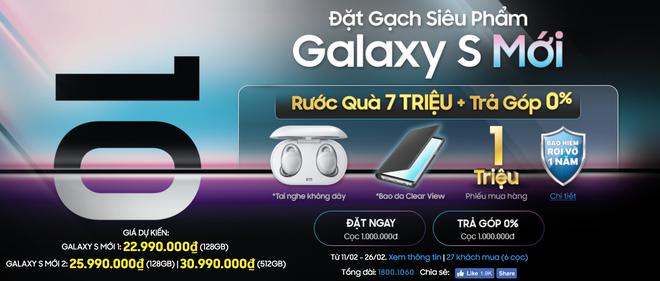 Galaxy S10 bắt đầu cho đặt hàng tại Việt Nam, giá cao nhất 36 triệu đồng - Ảnh 1.