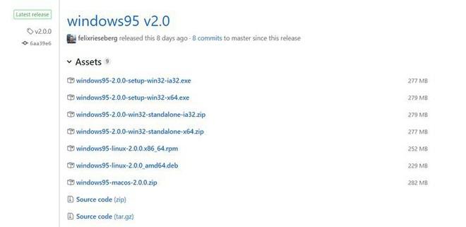 Thử ngay Windows 95 phiên bản 2.0 trên Linux, macOS và Windows với nhiều ứng dụng, tựa game mới - Ảnh 2.