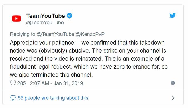 Luật bản quyền của Youtube bỗng trở thành công cụ để tống tiền - Ảnh 2.